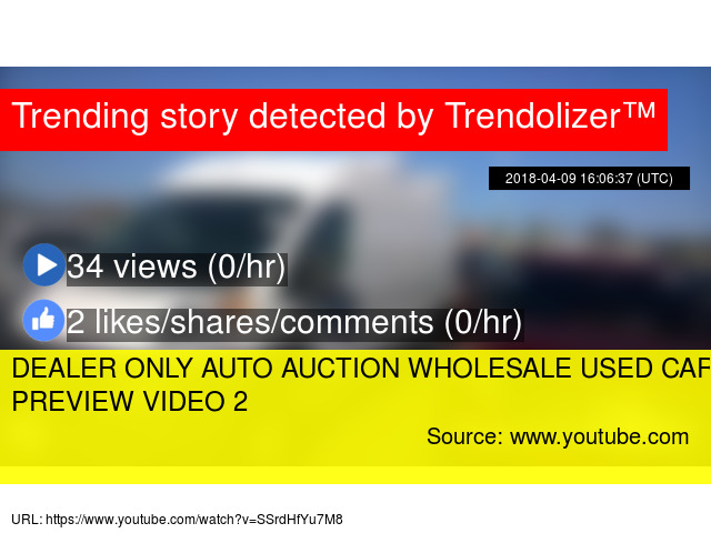 Dealer Only Auto Auction Wholesale Used Car Sales Preview Video 2