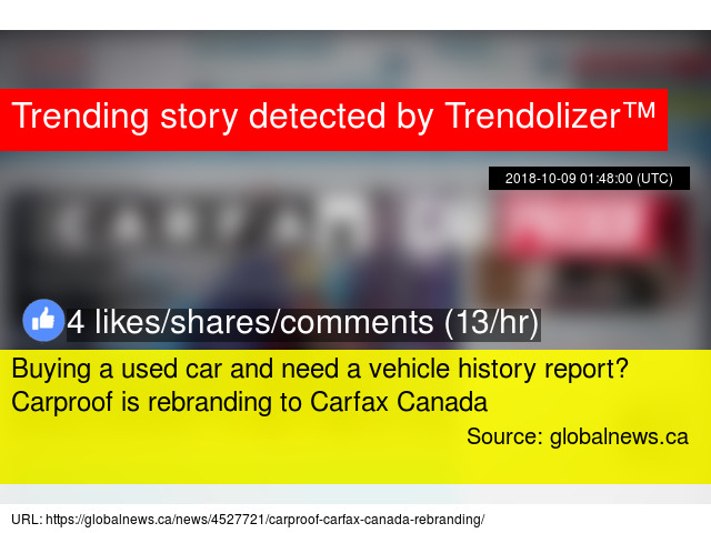 Buying A Used Car And Need A Vehicle History Report Carproof Is